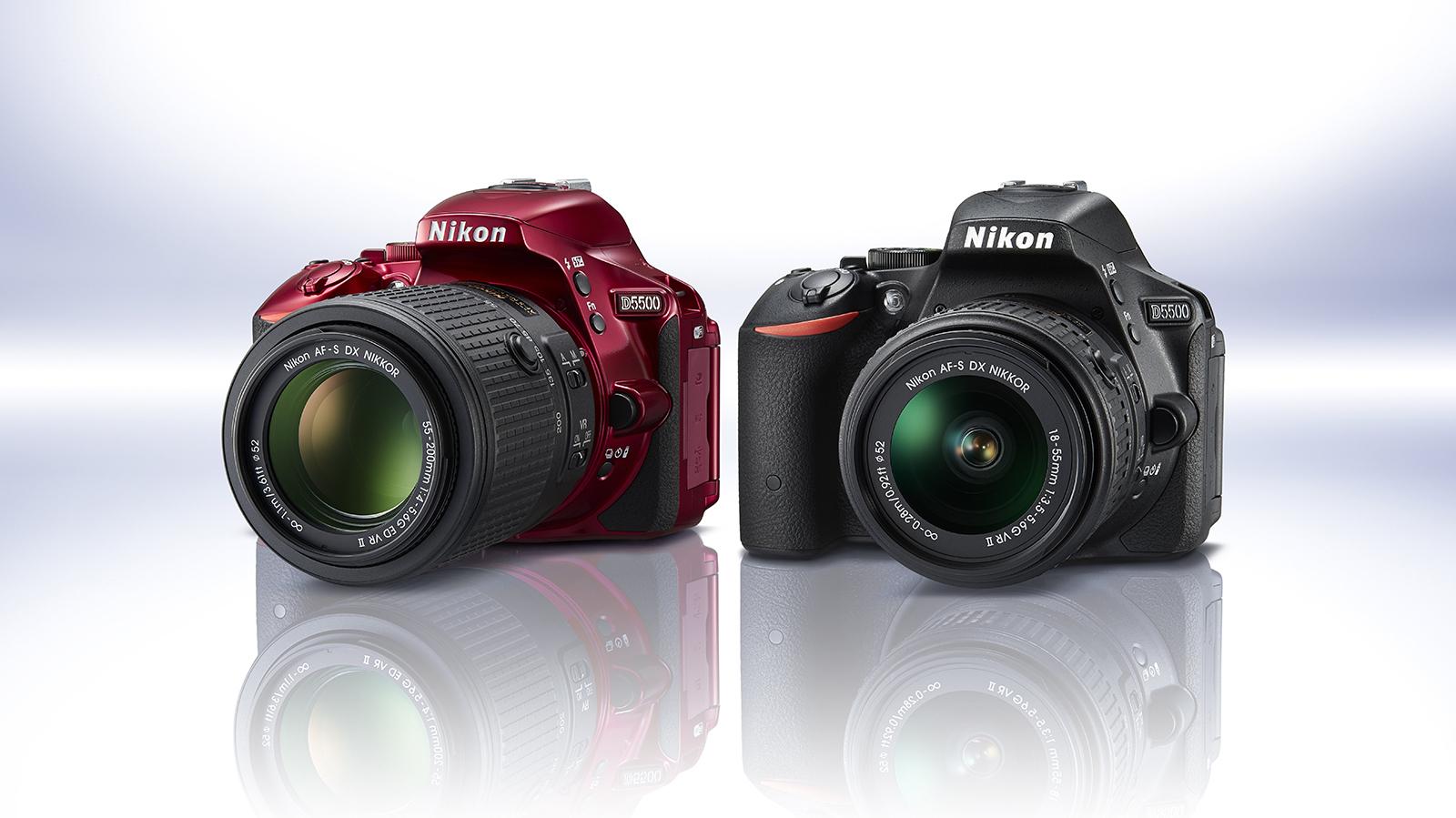 Nikon d5500 aps c spiegelreflex mit klappbarem for 5500 3