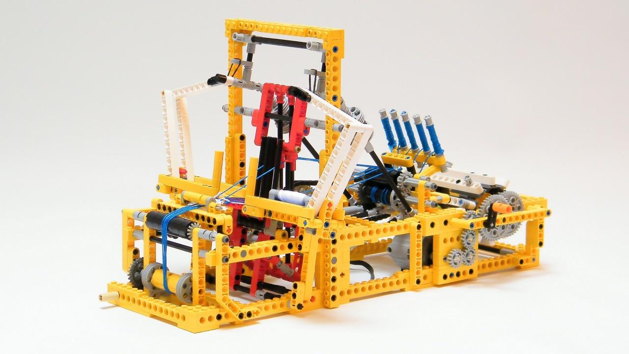 t ftler bauen mini webstuhl und 3d drucker aus lego make. Black Bedroom Furniture Sets. Home Design Ideas