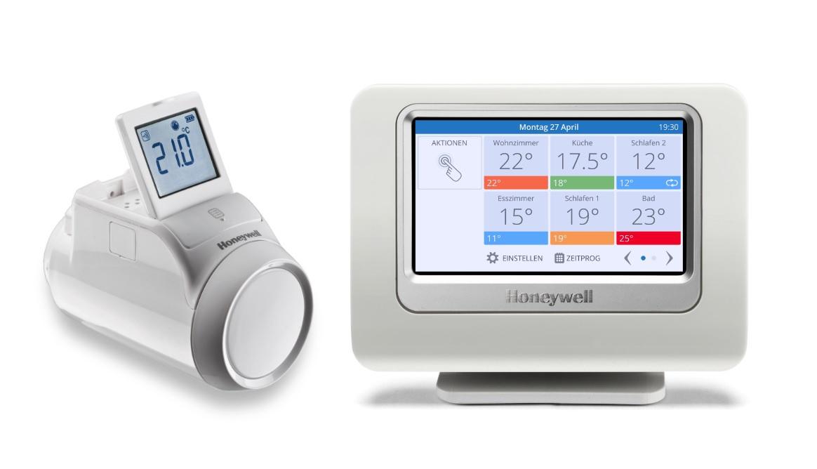 honeywell zeigt heizungssteuerung per pebble smartwatch. Black Bedroom Furniture Sets. Home Design Ideas