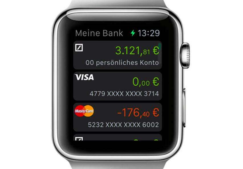 Deutsche Bahn Und Deutsche Bank Drängen Auf Die Apple Watch Heise
