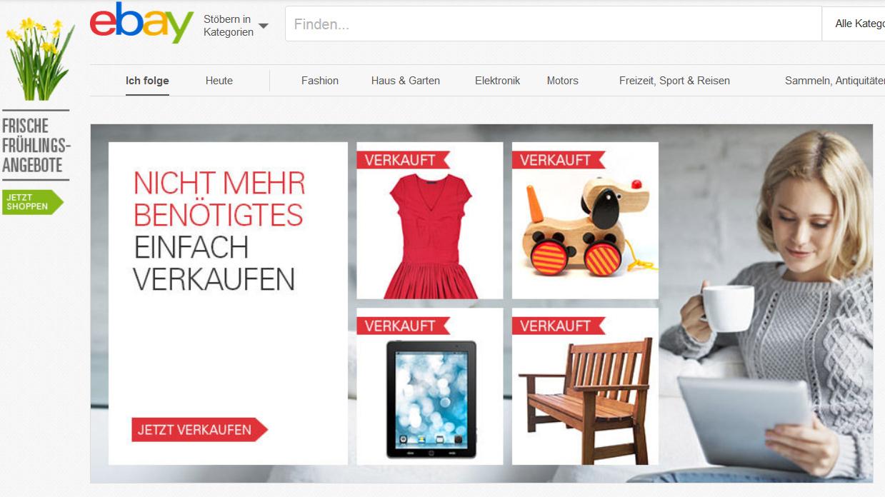 ebay erh ht die verkaufsgeb hren heise online. Black Bedroom Furniture Sets. Home Design Ideas