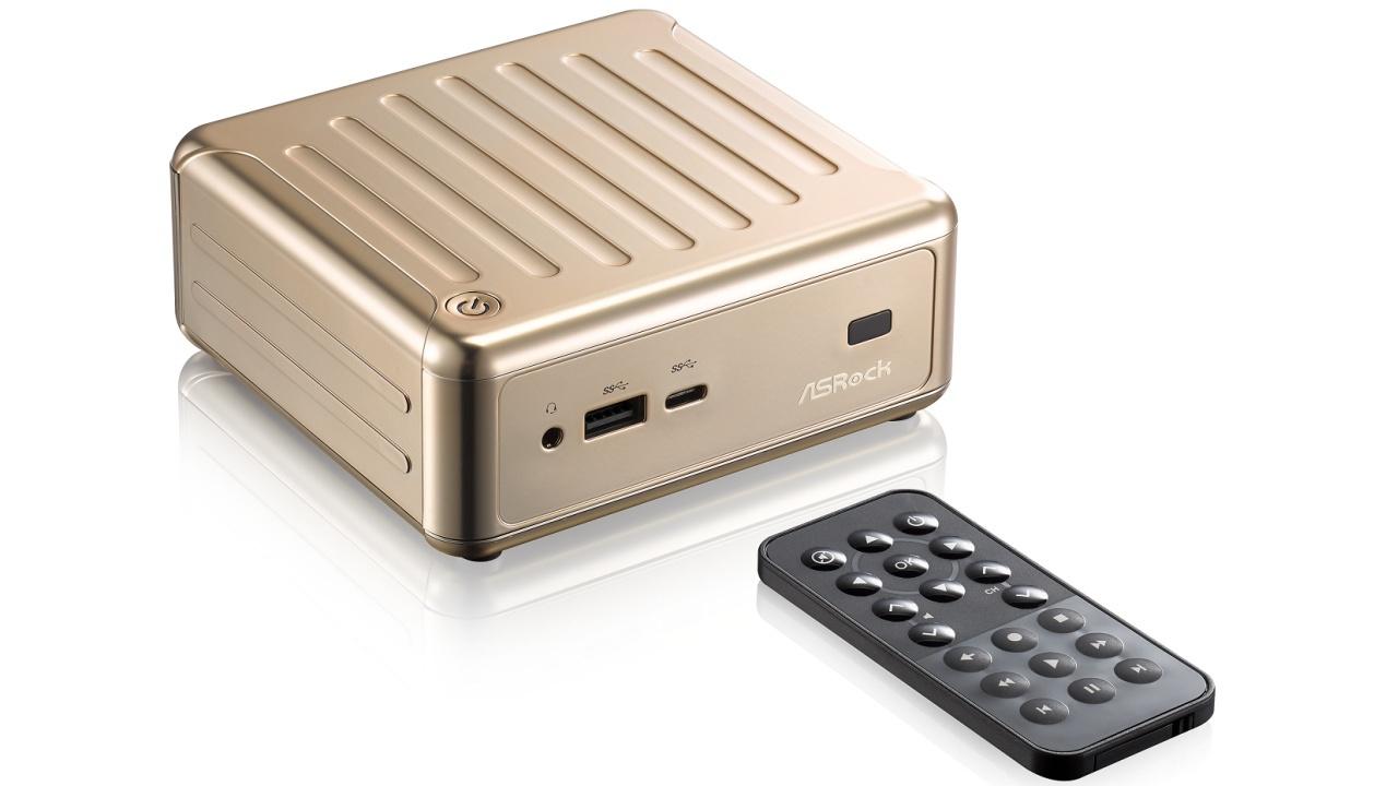 computex mini pc mit 4k und usb typ c heise online. Black Bedroom Furniture Sets. Home Design Ideas