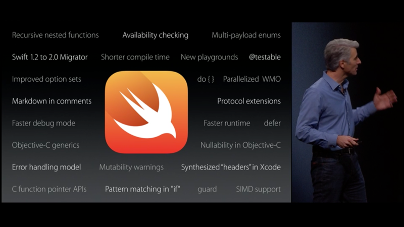 Wwdc Apple Swift 2 0 Wird Open Source Mac I