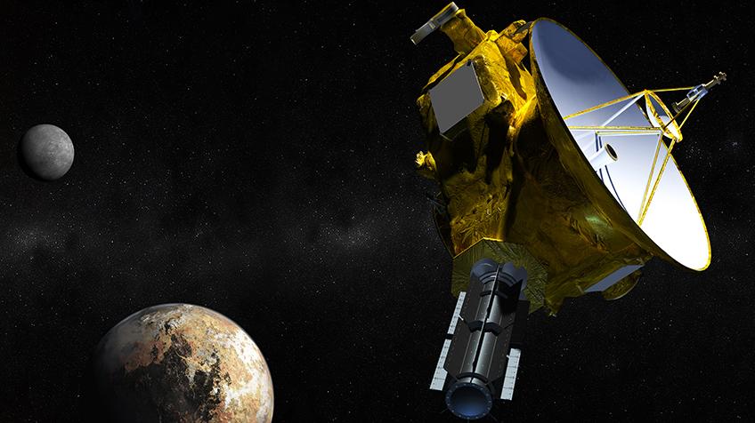 Nach Pluto-Vorbeiflug: NASA-Sonde New Horizons meldet sich ...