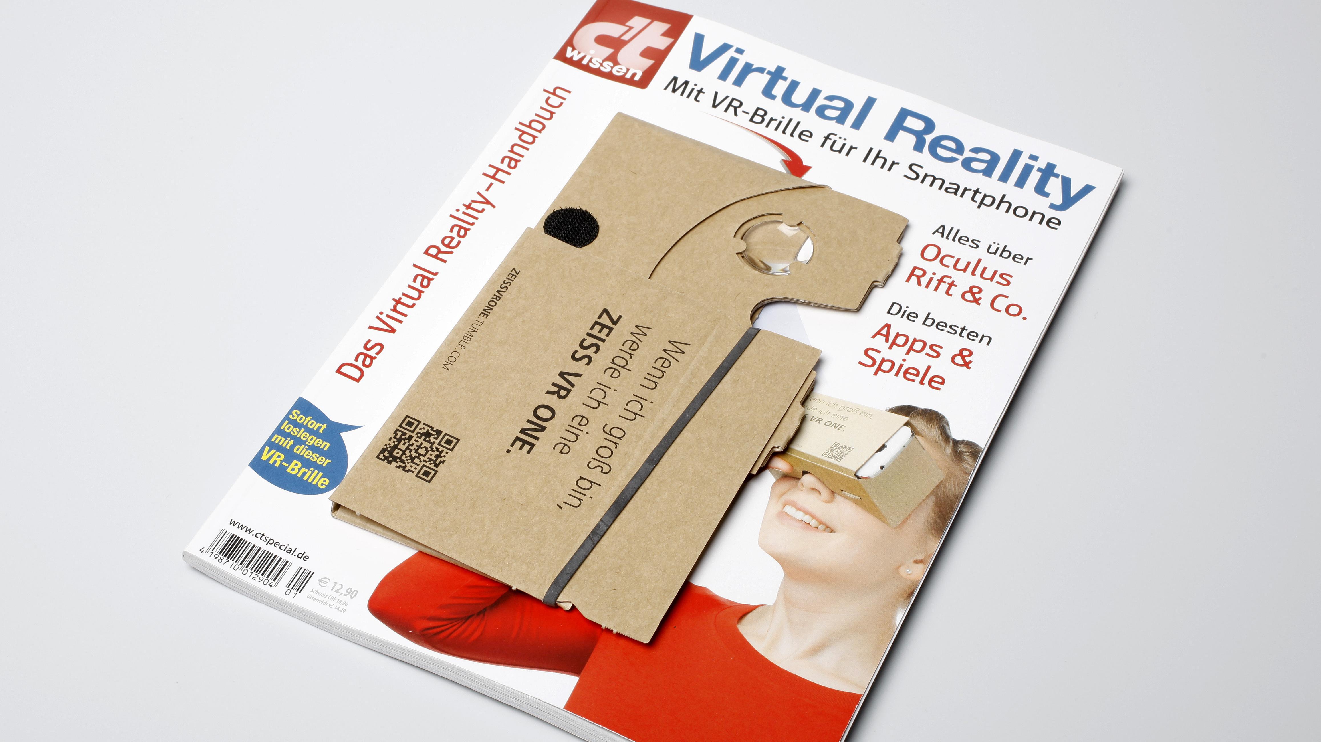 c't wissen Virtual Reality mit VR-Brille ab sofort erhältlich | heise online