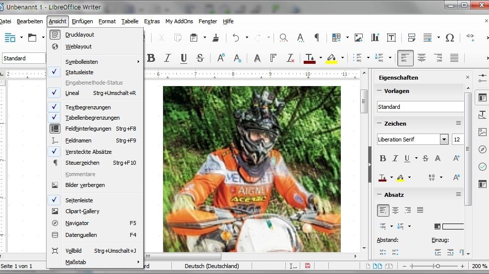 Office-Paket LibreOffice 5.0: viele Detailverbesserungen ...