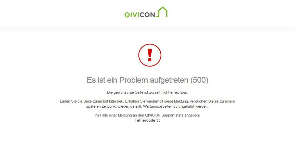 deutsche telekom ausfall des qivicon servers legt smart. Black Bedroom Furniture Sets. Home Design Ideas