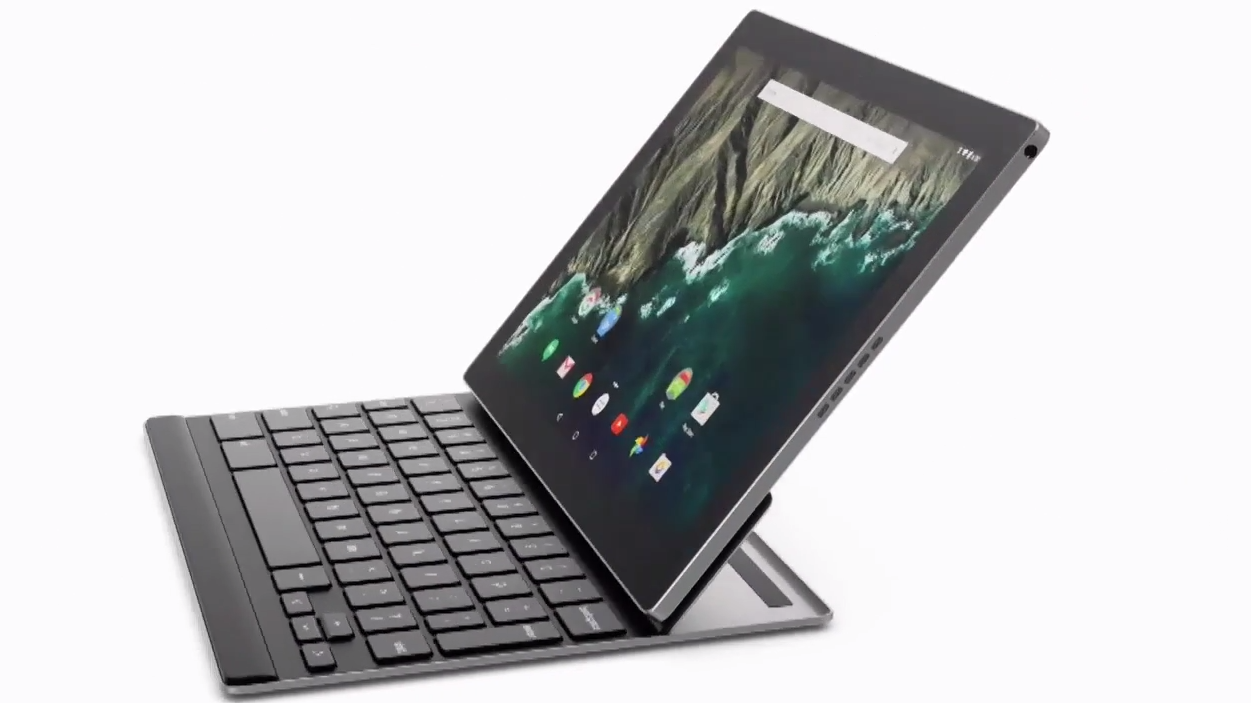 google pixel c android convertible tablet mit magnetischer tastatur heise online. Black Bedroom Furniture Sets. Home Design Ideas