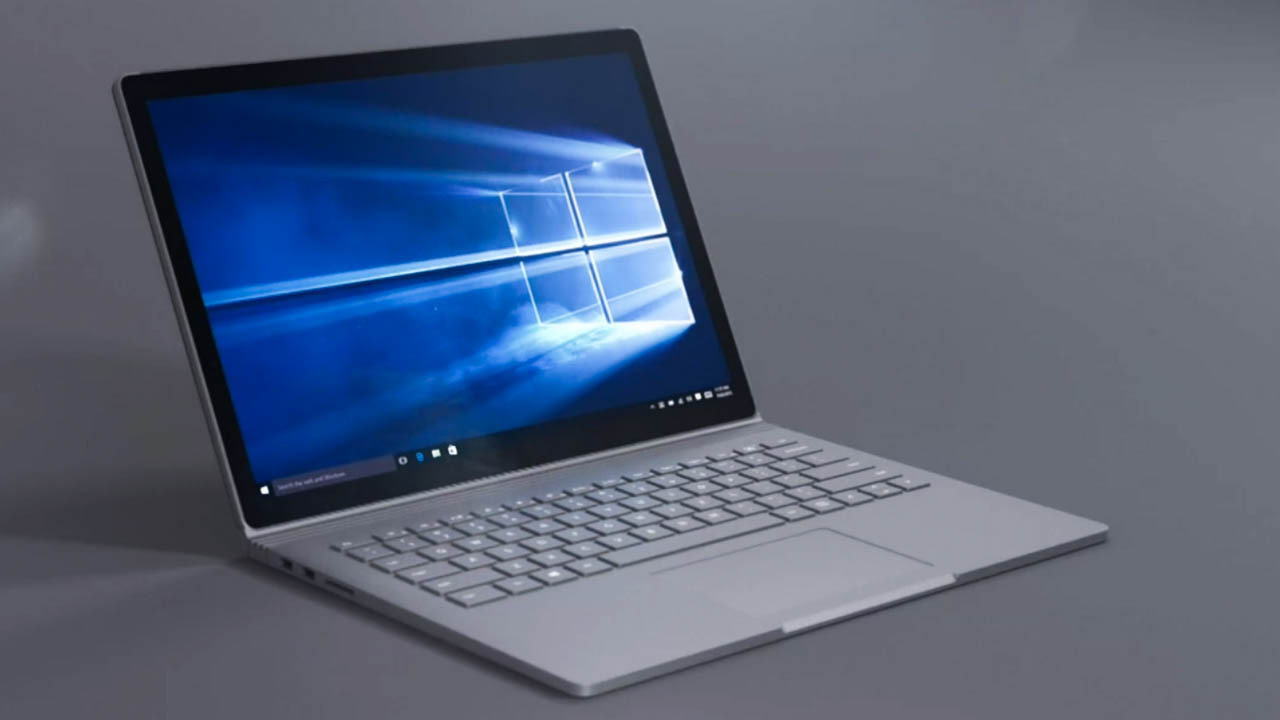 surface book microsoft bringt 13 5 zoll hybridger t heise online. Black Bedroom Furniture Sets. Home Design Ideas