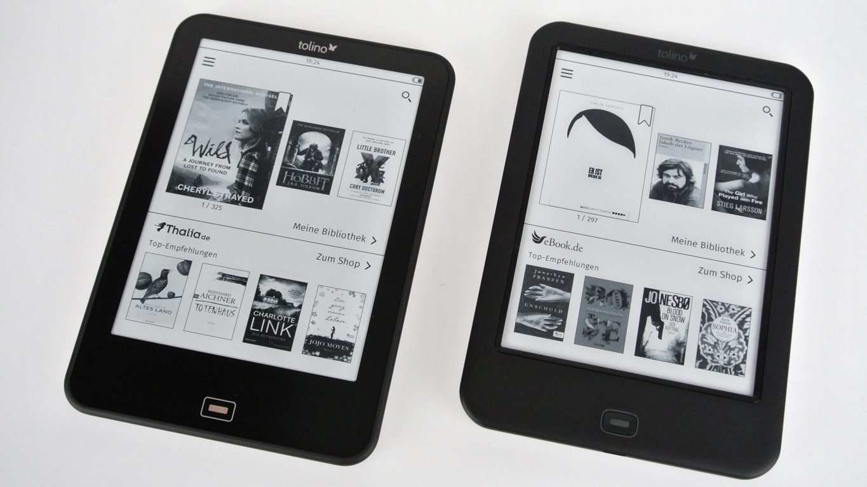e book reader tolino vision 3hd und shine 2hd im test. Black Bedroom Furniture Sets. Home Design Ideas
