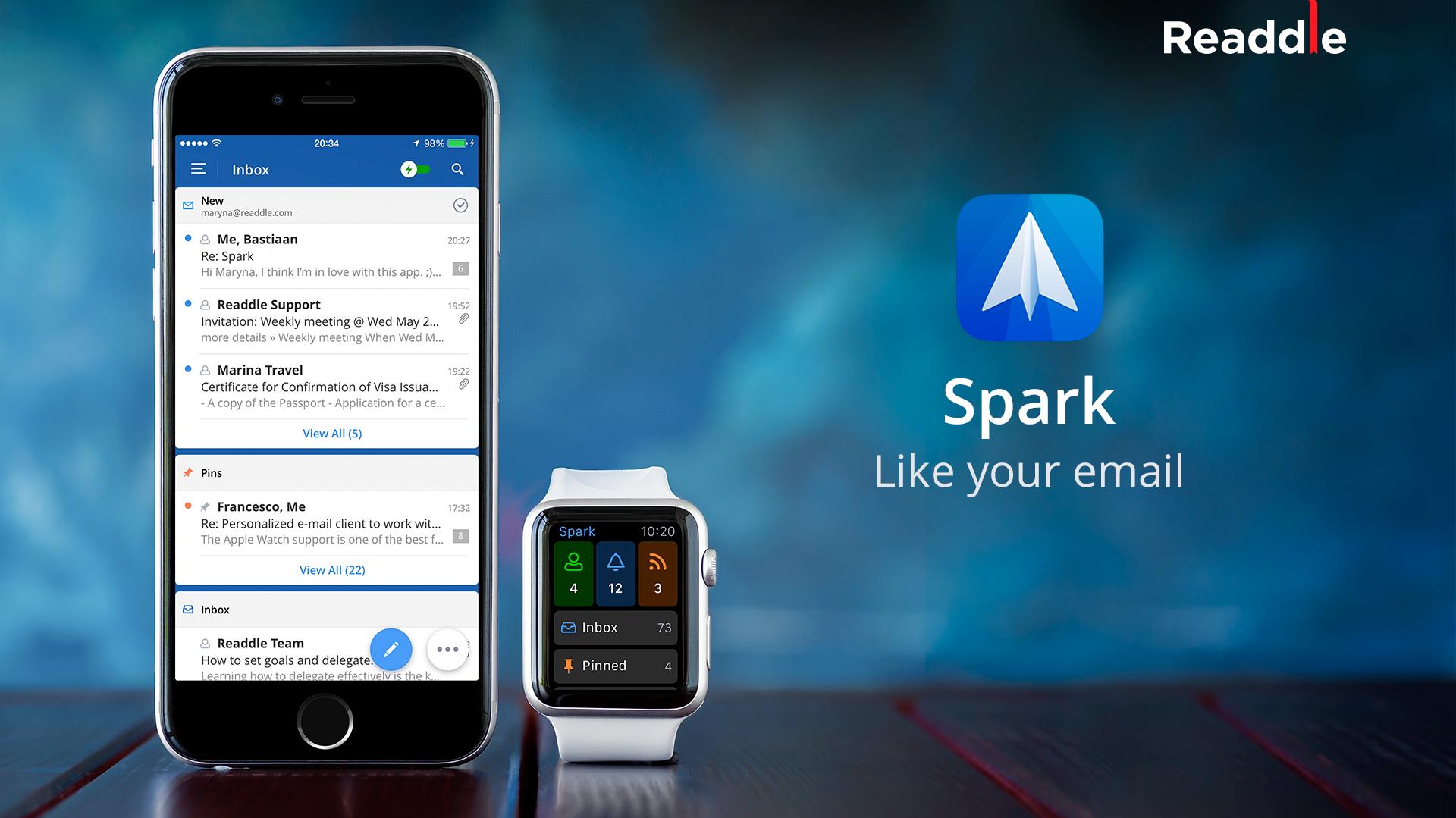 Iphone Mail Client Spark Mit Vollstandiger Exchange