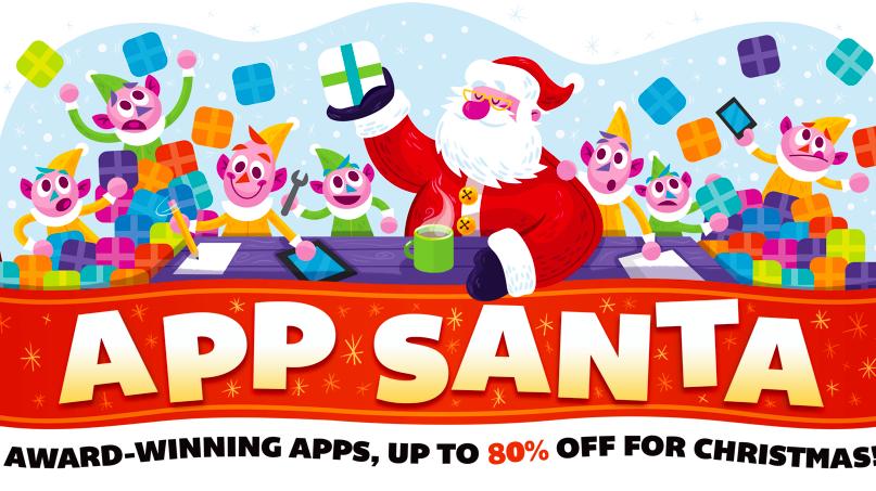 app santa und 1 euro apps zu weihnachten mac i. Black Bedroom Furniture Sets. Home Design Ideas