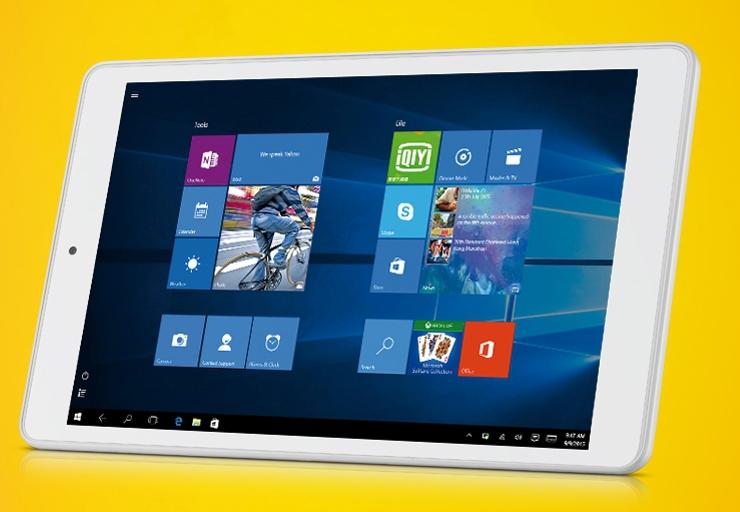 ces 2016 8 zoll tablet mit windows 10 mobile von alcatel. Black Bedroom Furniture Sets. Home Design Ideas