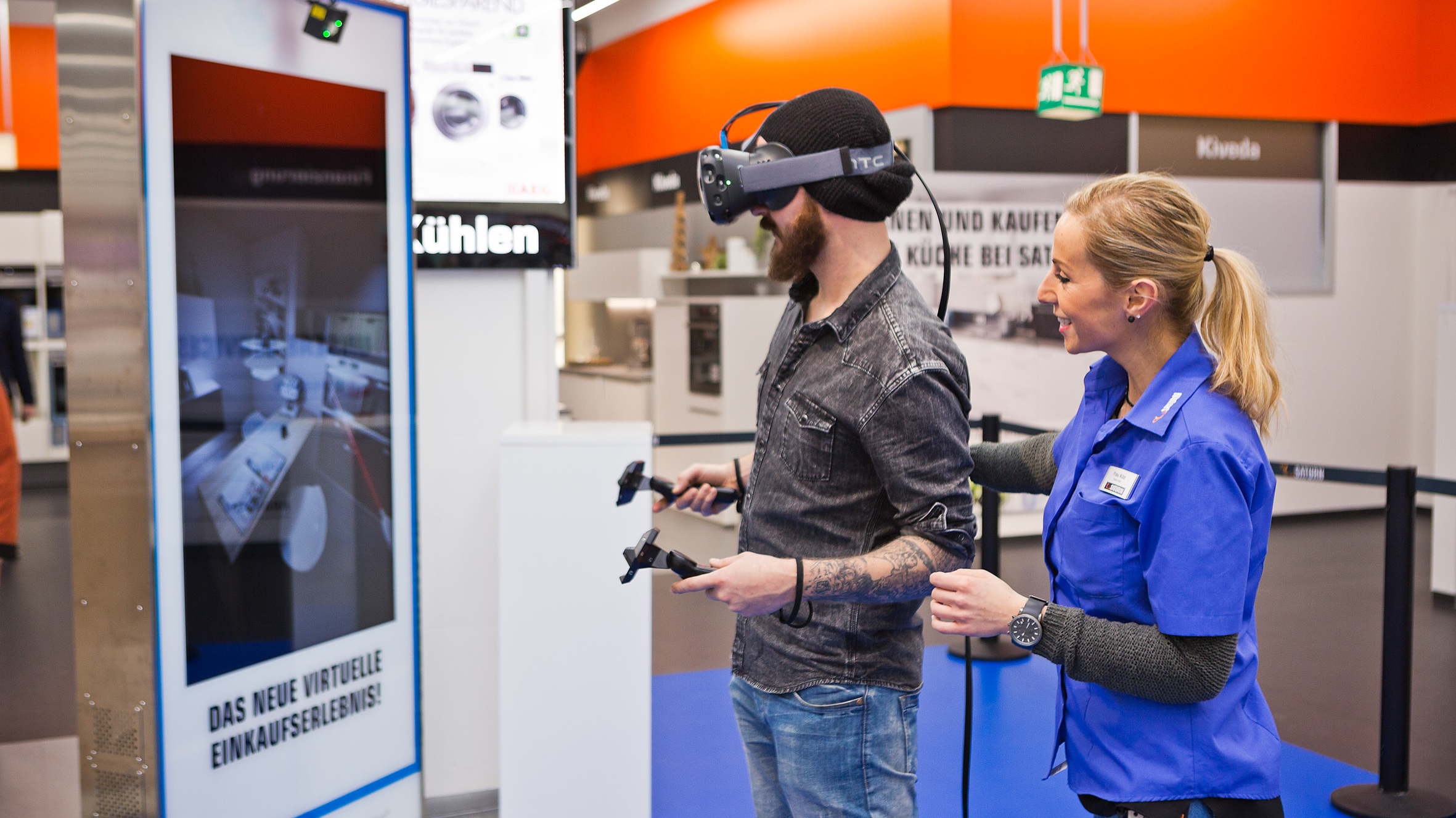 Media Saturn Testet Virtual Reality Bei Der K 252 Chenplanung