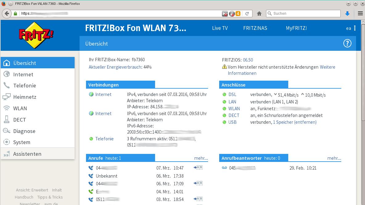 Fritzbox: FritzOS 6.50 für immer mehr Modelle verfügbar  heise online