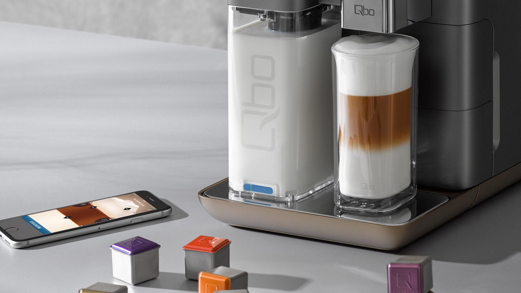 tchibo stellt vernetztes kaffeesystem qbo vor heise online. Black Bedroom Furniture Sets. Home Design Ideas