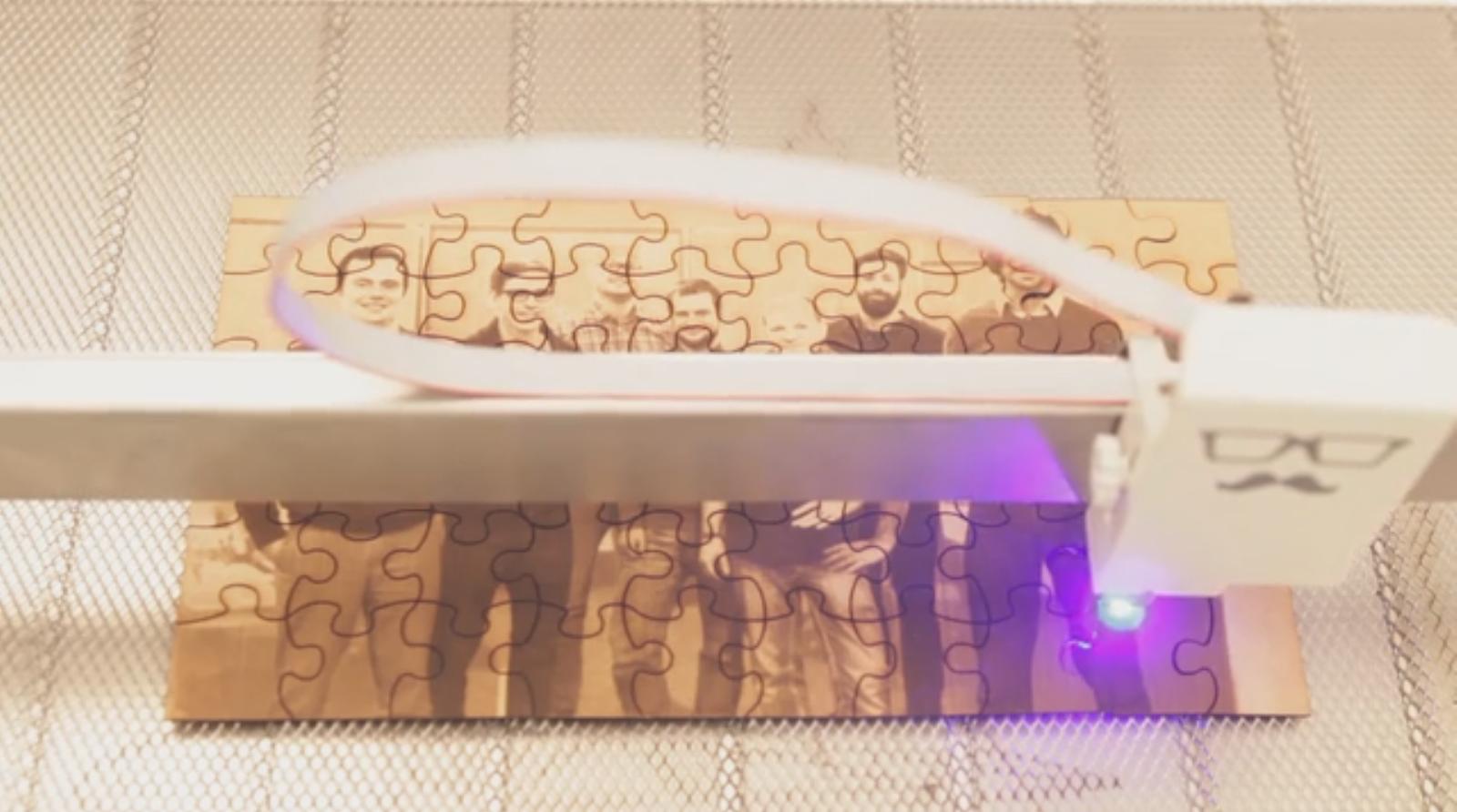 Lasercutter Geht Durch Die Decke Mr Beam Ii Auf