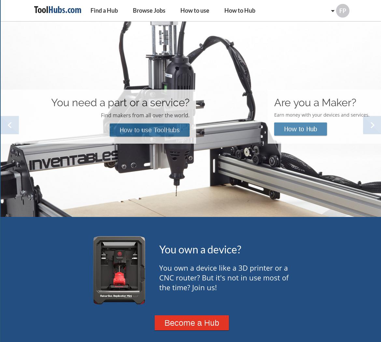 ToolHubs: Tauschbörse Für 3D-Druck-, CNC- Und Laser
