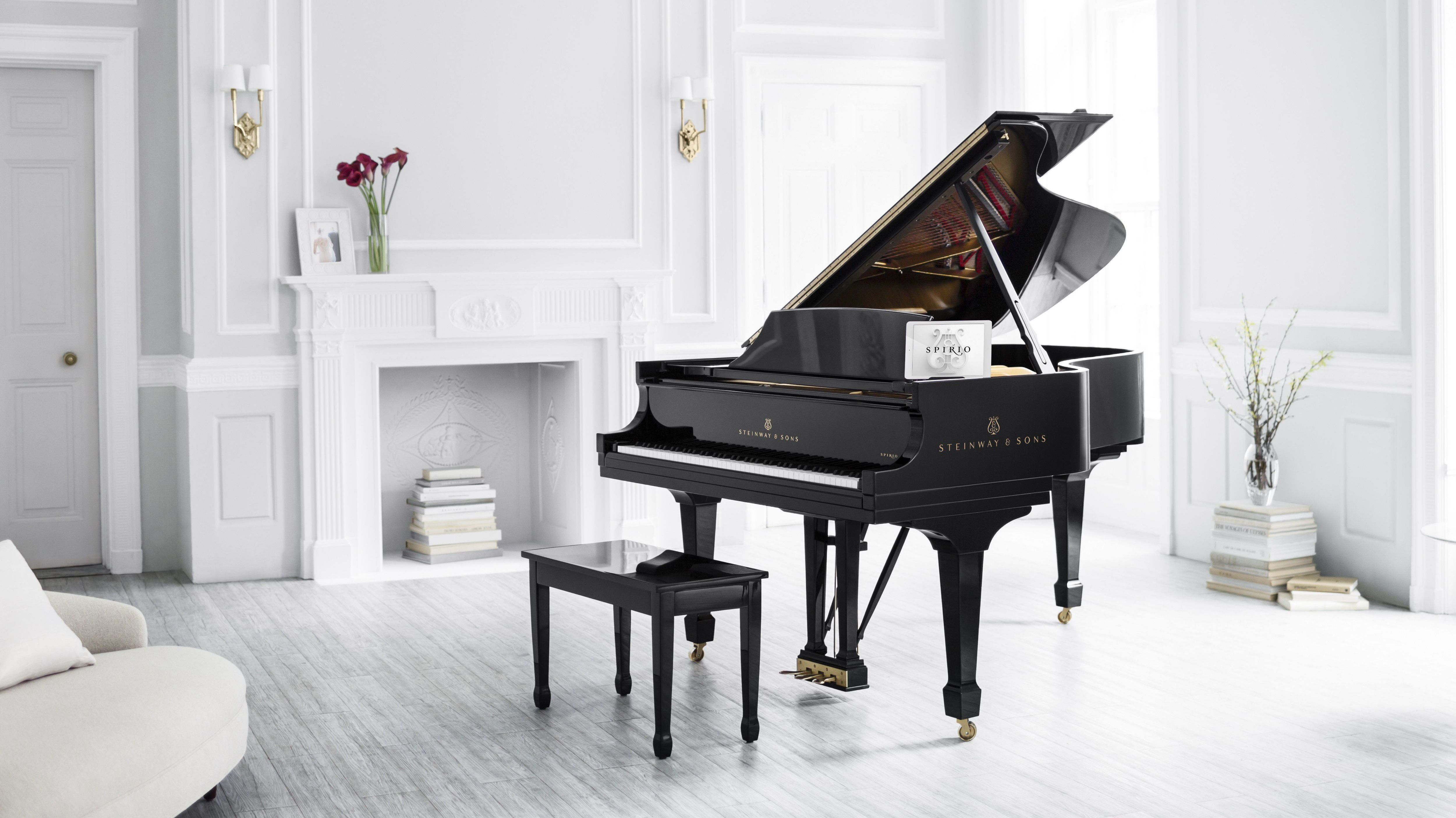 steinway fl gel als pianola mit ipad steuerung mac i. Black Bedroom Furniture Sets. Home Design Ideas