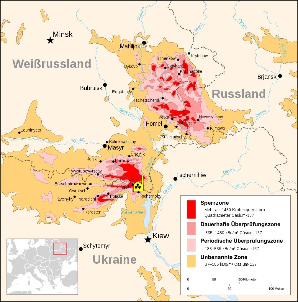 Tschernobyl Vor 30 Jahren Ereignete Sich Die Akw