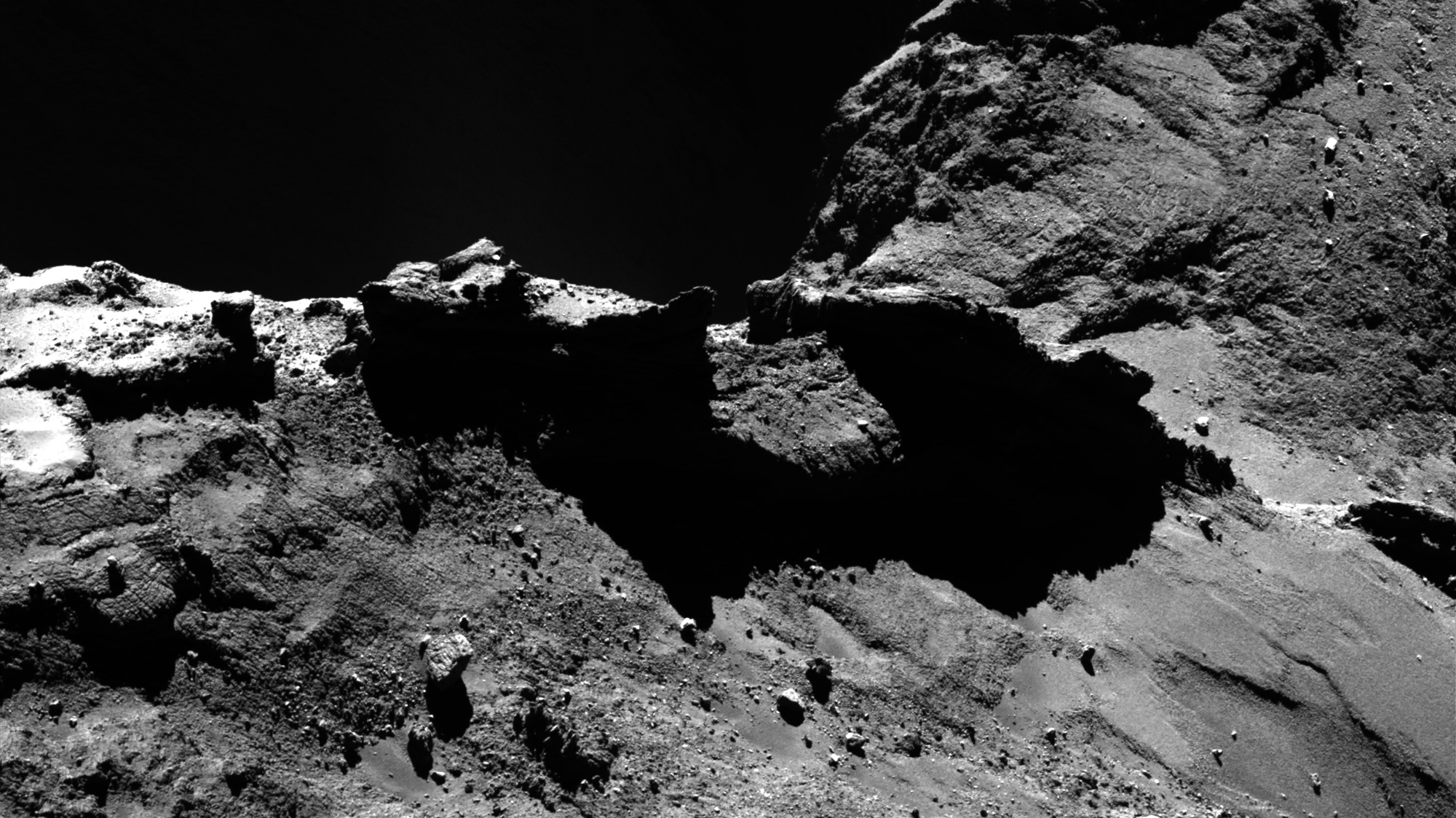 ESA-Sonde Rosetta: Tausende neue Fotos vom Kometen und ...