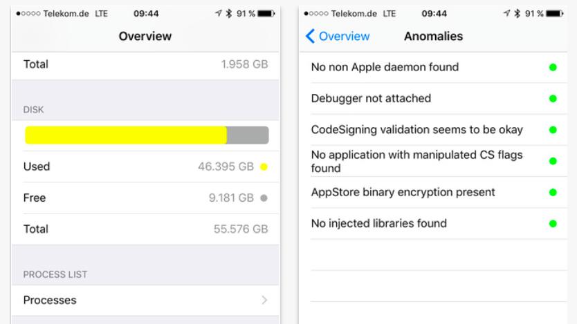 apple wirft jailbreak erkennungs app wieder raus mac i. Black Bedroom Furniture Sets. Home Design Ideas