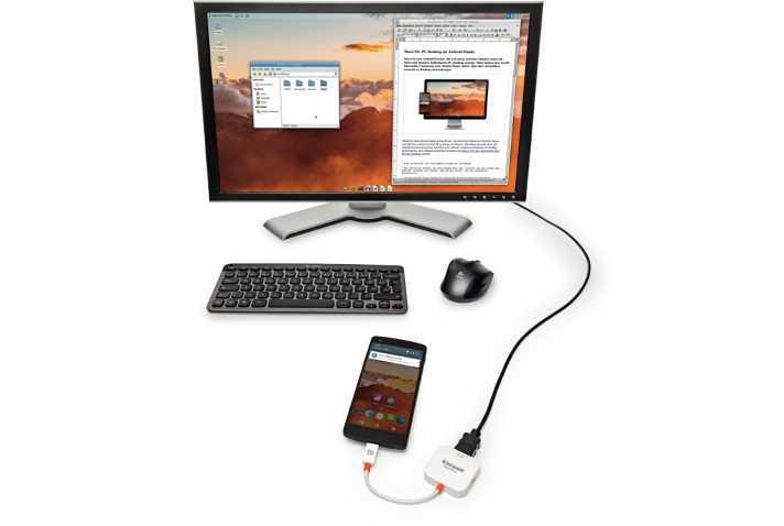 Maru OS: Linux-Desktop fürs Smartphone