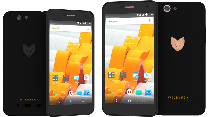 Wileyfox Spark: Neue Einsteiger-Smartphones mit Cyanogen ...