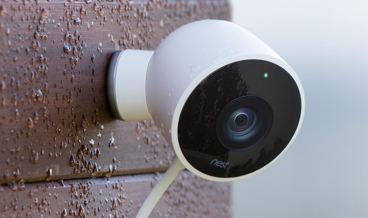 google nest au en berwachungskamera mit. Black Bedroom Furniture Sets. Home Design Ideas