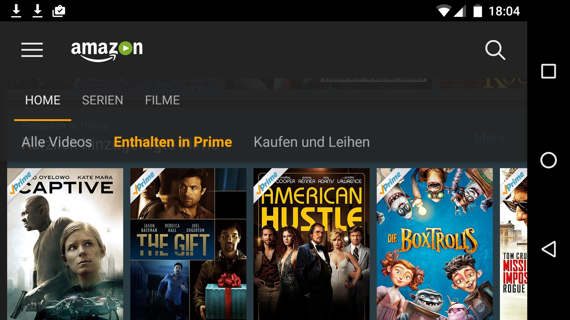 Amazon Prime Filme Anschauen