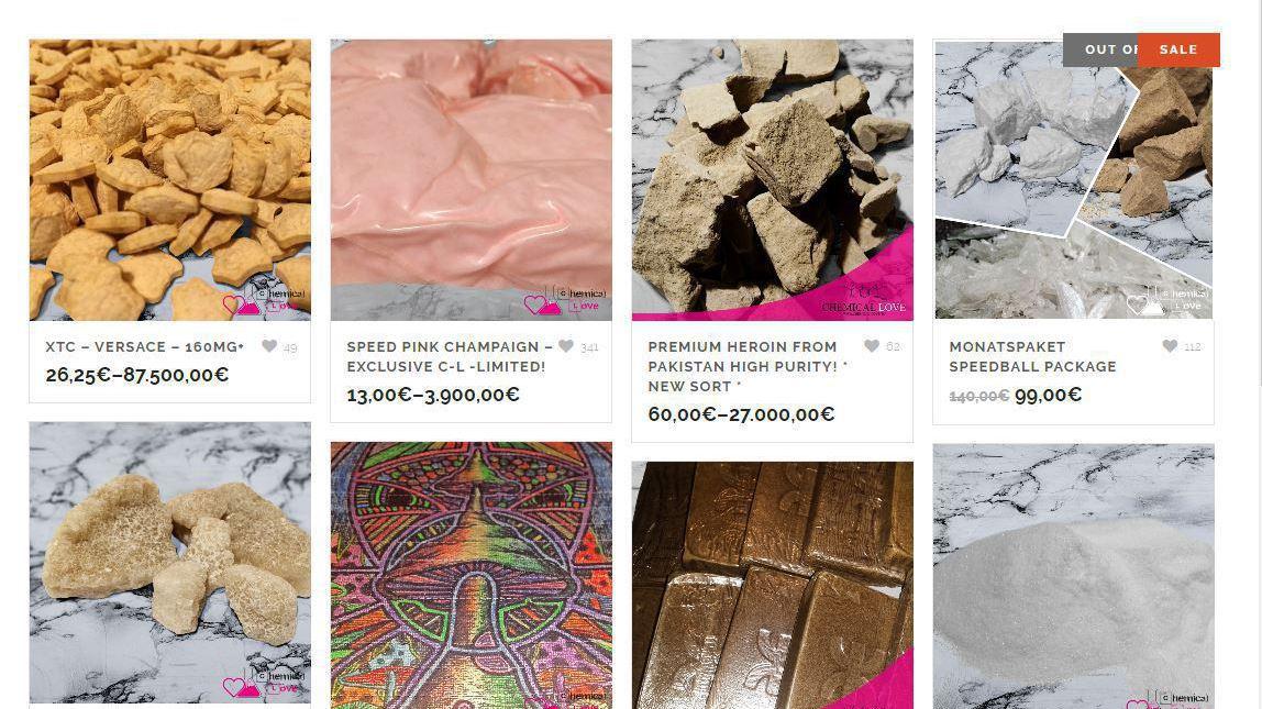 neue razzia nach zerschlagung des bundesweit gr ten drogen webshops heise online. Black Bedroom Furniture Sets. Home Design Ideas