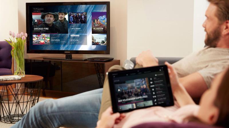 entertain tv mobil