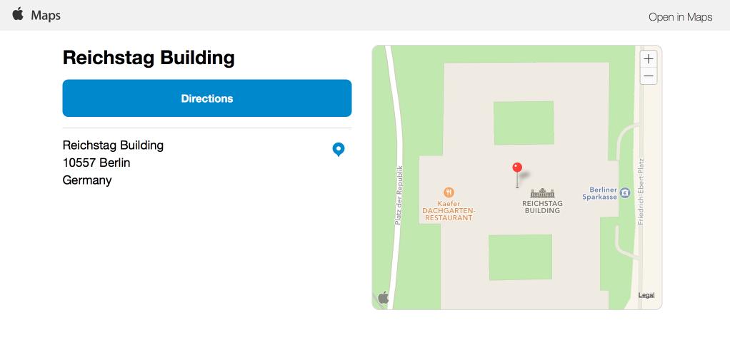 Apple Maps im Web verfügbar: Konkurrenz für Google & Co ...