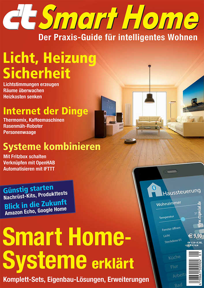 c 39 t smart home jetzt im handel heise online. Black Bedroom Furniture Sets. Home Design Ideas