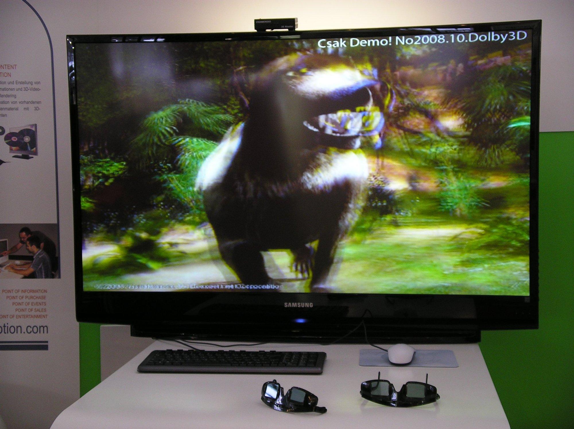 Tv benötigt man eine shutterbrille für die 3d effekte heise online
