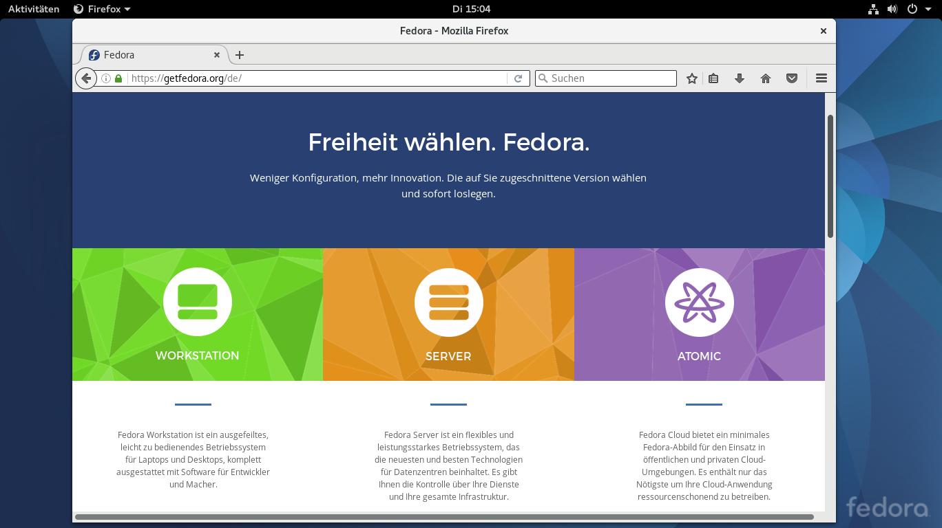 Linux-Distribution Fedora 25 freigegeben: Der Umstieg auf Wayland
