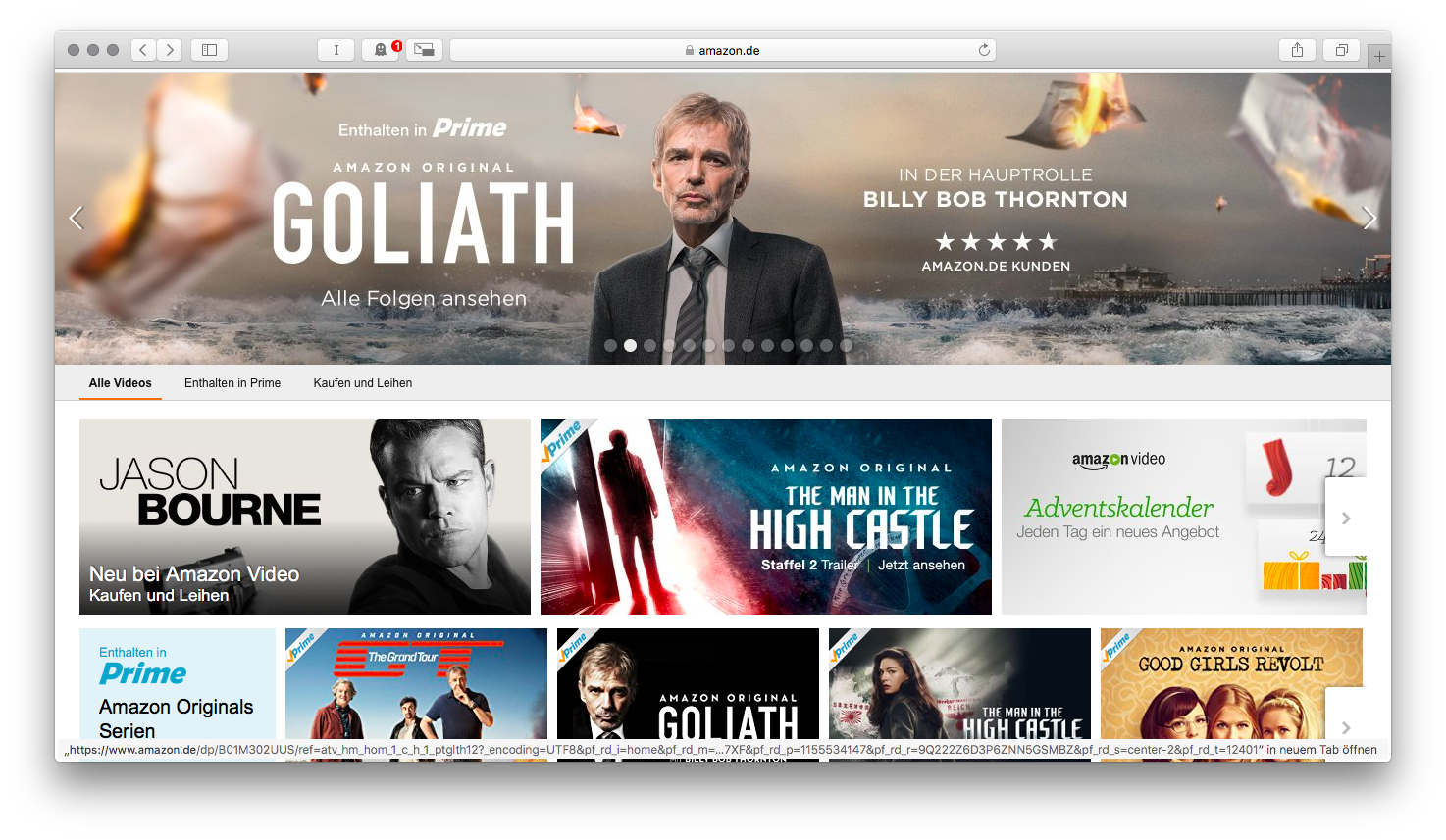 Html5 Player Amazon Prime Video Unterstützt Safari Heise