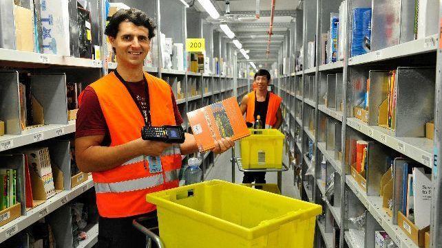 amazon will erstes logistikzentrum in norddeutschland bauen heise online. Black Bedroom Furniture Sets. Home Design Ideas