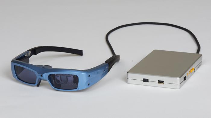 augmented reality brille f r kurz und weitsichtige. Black Bedroom Furniture Sets. Home Design Ideas