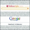Wolfram Alpha vs. Google