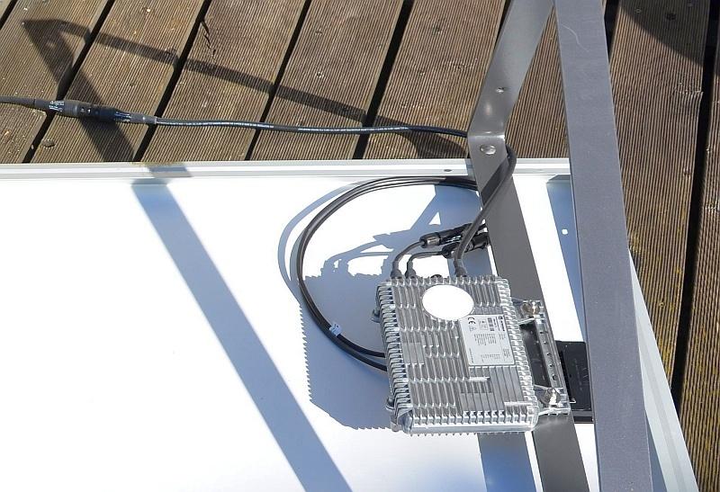 Steckerfertige solaranlage