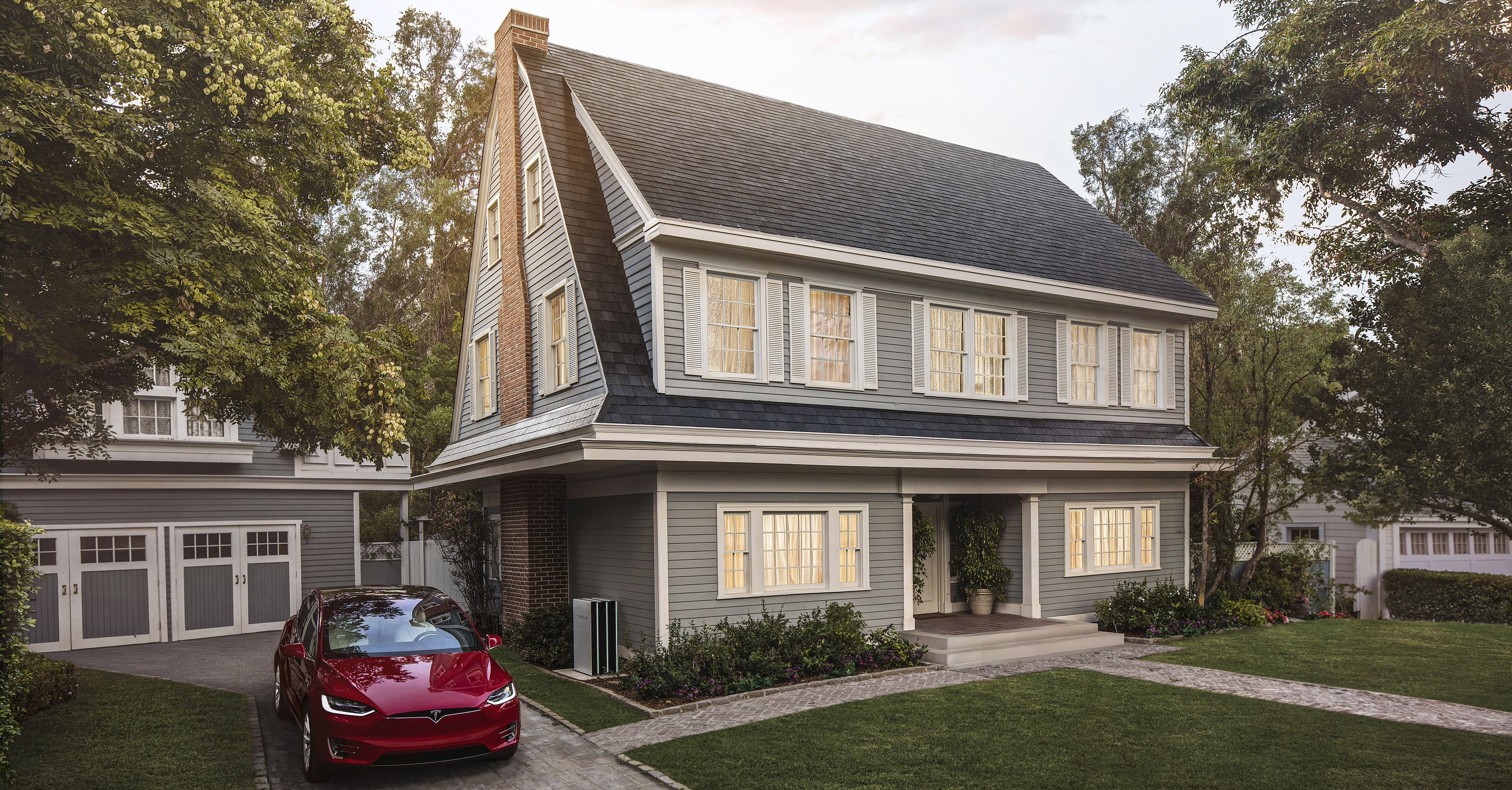 tesla nimmt vorbestellungen f r solar dachziegel entgegen. Black Bedroom Furniture Sets. Home Design Ideas