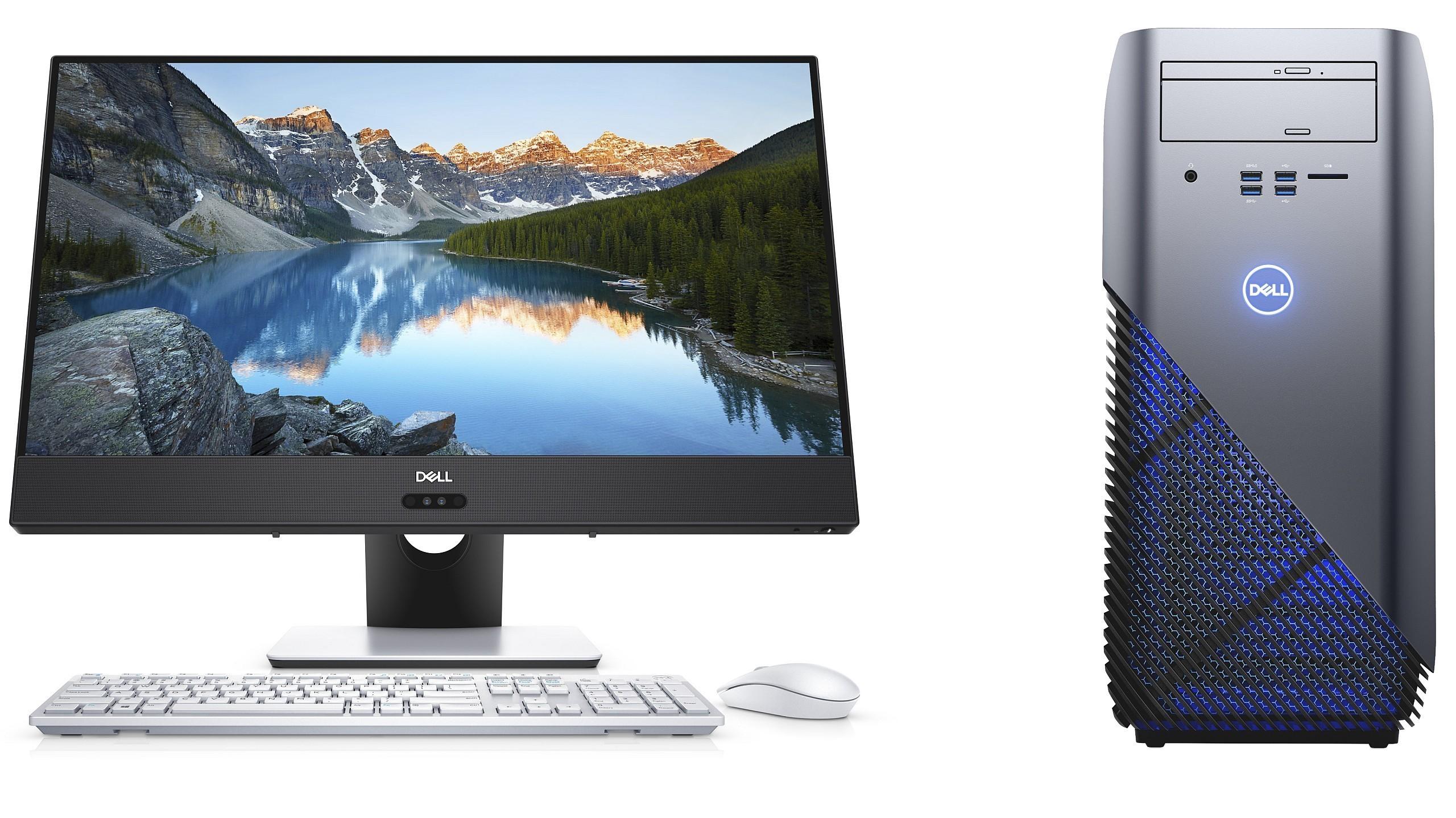 Dell-PCs mit AMD Ryzen: Inspiron für Gamer, AiO-PCs mit schmalen Rahmen