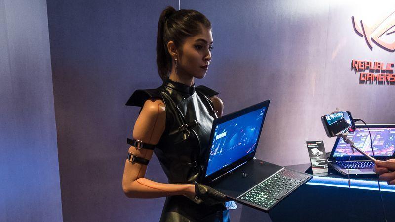 Computex: Acer X35 und Asus PG35VQ: Gebogene Gaming-Displays mit G