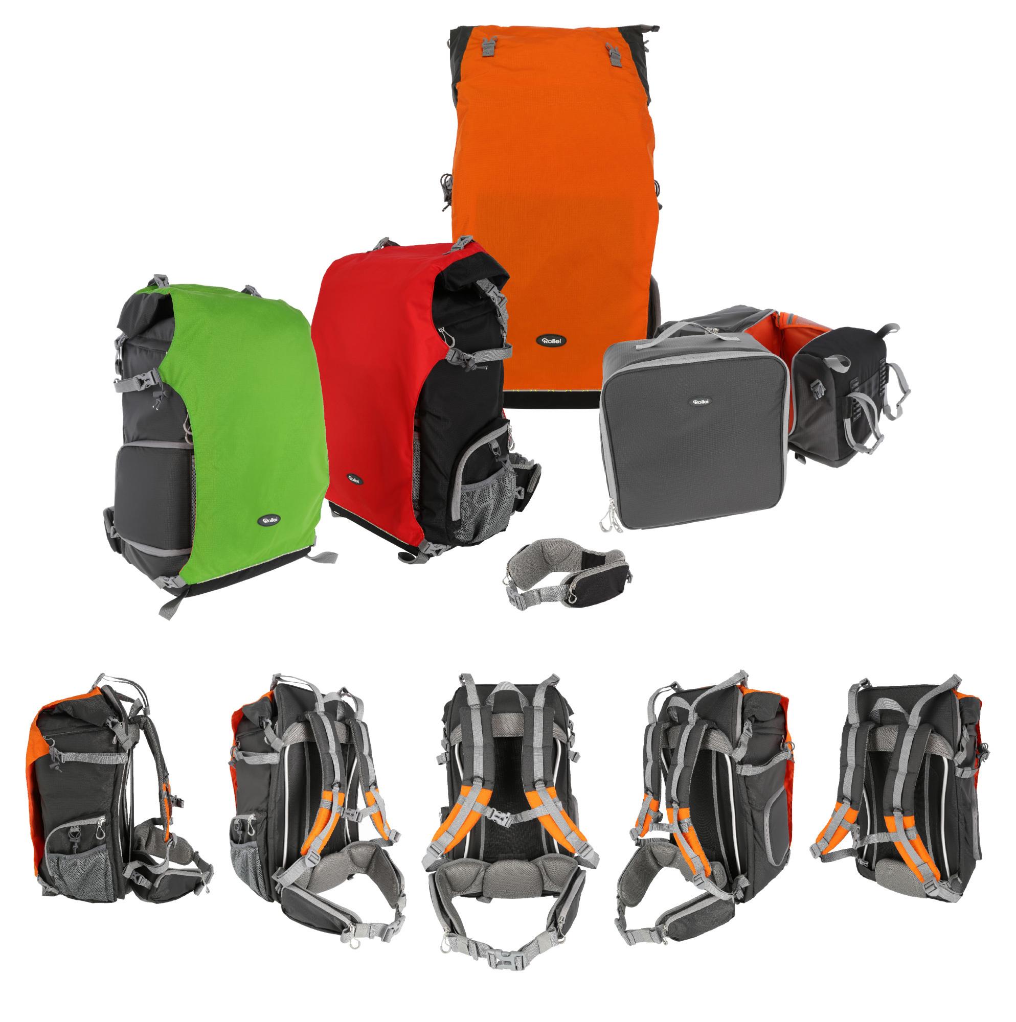 d4f9b20729 Die Rucksäcke der Canyon-Serie sind in verschiedenen Farben und Größen von  10 bis 50 Liter Volumen erhältlich.