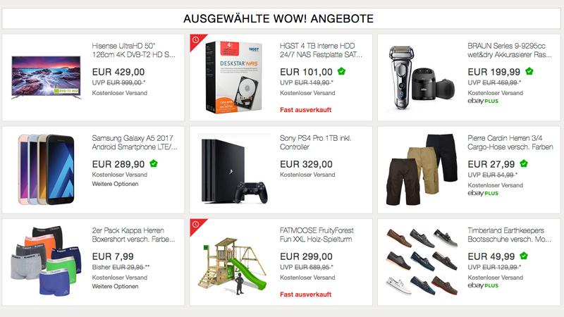 ebay tiefpreisgarantie nun auch in deutschland heise online. Black Bedroom Furniture Sets. Home Design Ideas