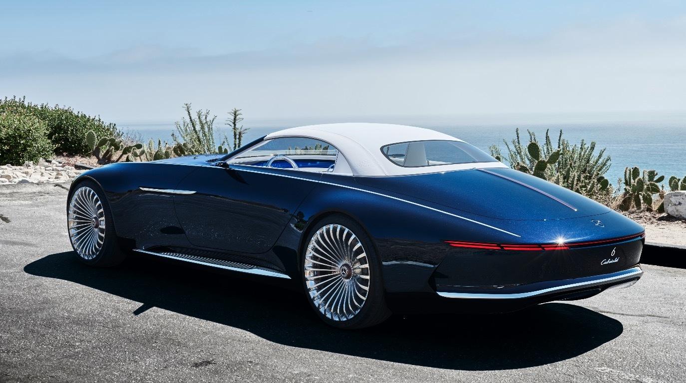 vision mercedes maybach 6 cabriolet daimler zeigt konzept. Black Bedroom Furniture Sets. Home Design Ideas