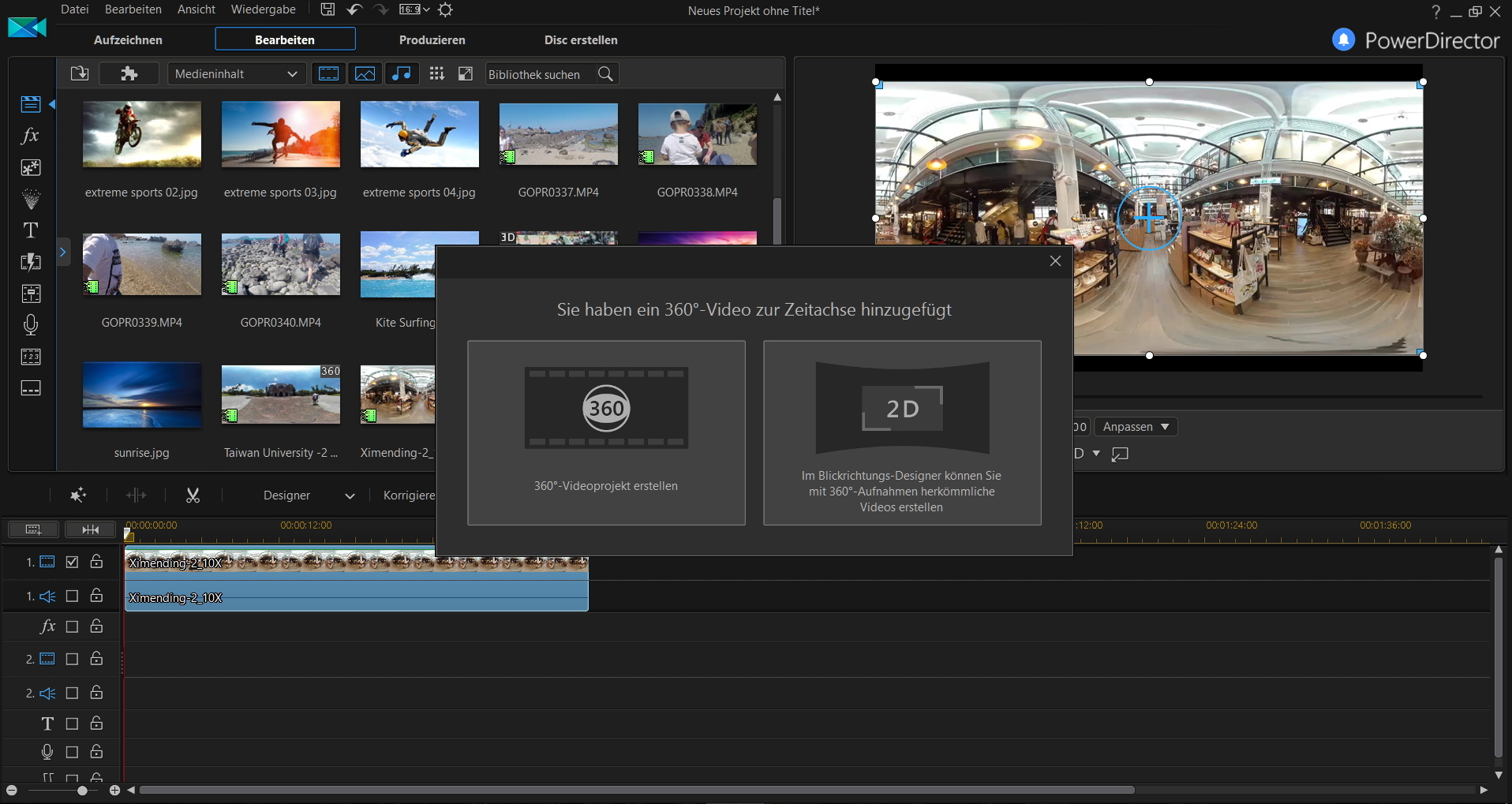 PowerDirector 16 delivers high-end performance editing for both standard and º video. Built to be flexible, yet powerful, PowerDirector remains the definite video editing solution for anyone, whether they are beginners or professionals.