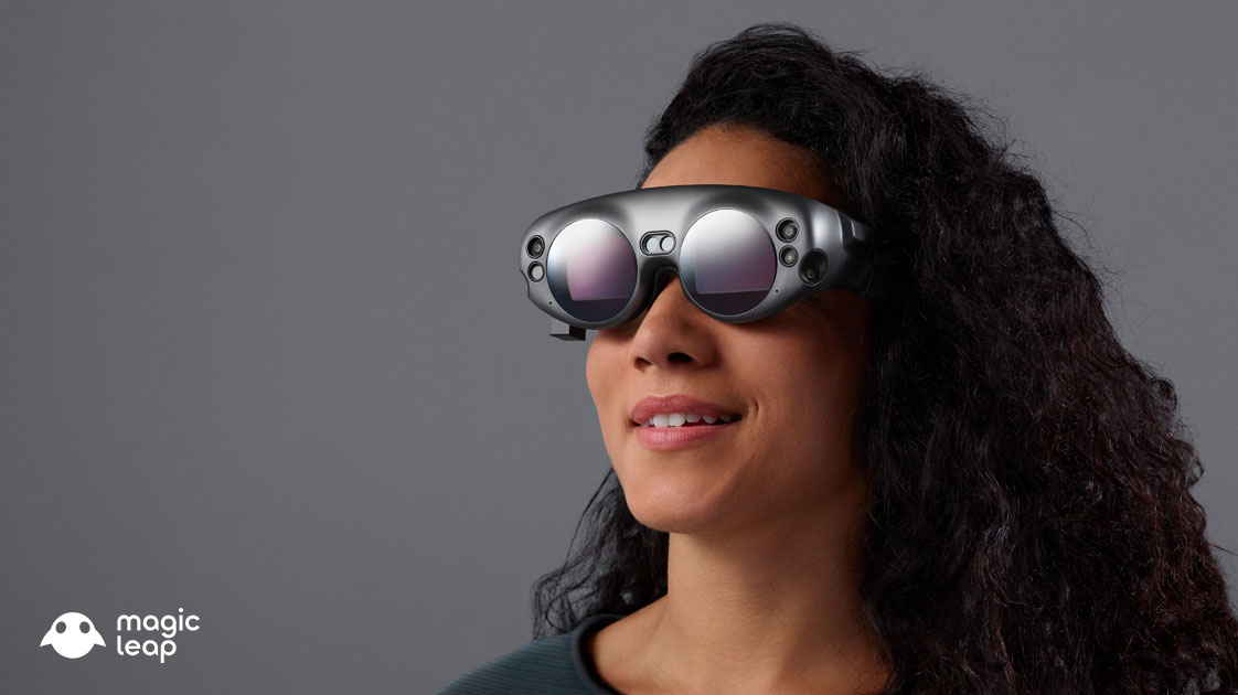 magic leap stellt futuristische augmented reality brille. Black Bedroom Furniture Sets. Home Design Ideas