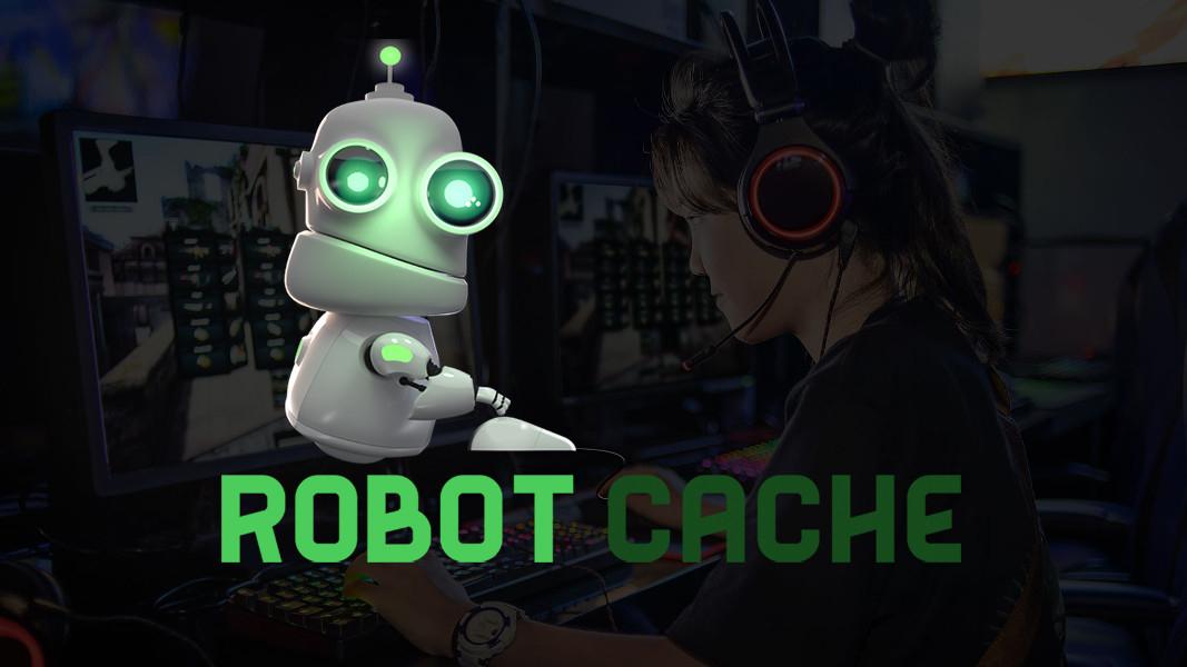robot cache steam alternative mit blockchain und. Black Bedroom Furniture Sets. Home Design Ideas